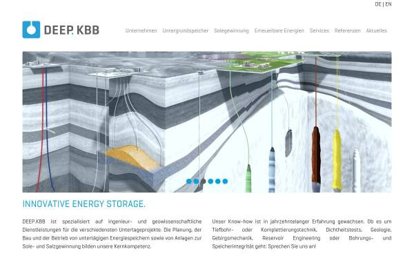 Vorschau von www.kbbnet.de, KBB Underground Technologies GmbH