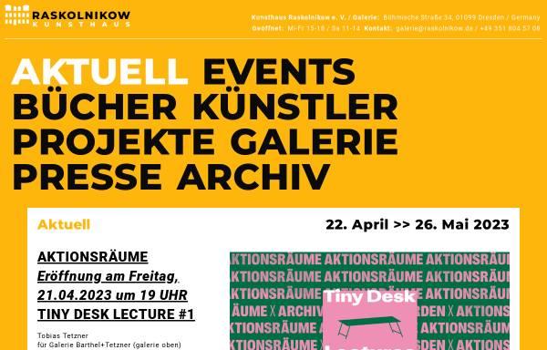 Vorschau von www.galerie-raskolnikow.de, Kunsthaus Raskolnikow