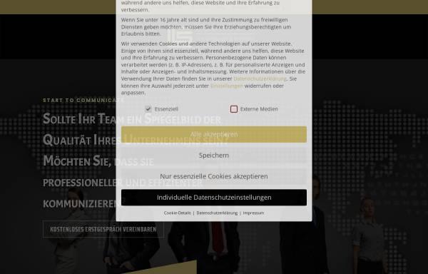 Vorschau von www.lc-erlangen.de, Language Center Erlangen, Inh. Rosie Norman