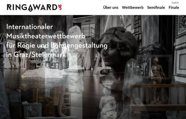 Vorschau von www.ringaward.com, Ring.award.03 - Internationaler Wettbewerb für Regie und Bühnenbild