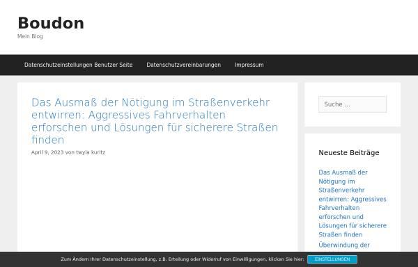Vorschau von www.rechtsanwalt-boudon.de, Boudon, Rechtsanwalt Dr. Ulrich