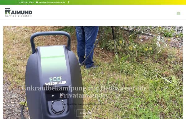 Vorschau von www.raimundmaschinen.de, Paul Raimund Landmaschinen