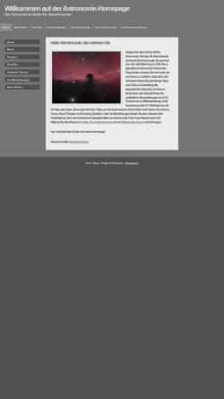 Vorschau der mobilen Webseite www.astro-siggi.de, Amateurastronomie [Bergthal, Siegfried]