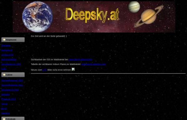 Vorschau von www.deepsky.at, Astronomie im Waldviertel