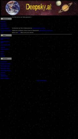 Vorschau der mobilen Webseite www.deepsky.at, Astronomie im Waldviertel