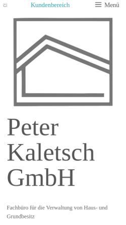Vorschau der mobilen Webseite www.astro-peter.de, Astronomie [Kaletsch, Peter]