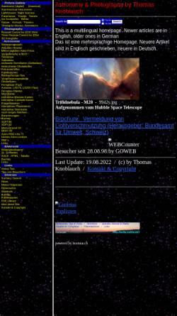 Vorschau der mobilen Webseite avila.star-shine.ch, Astronomie [Knoblauch, Thomas]