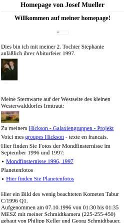 Vorschau der mobilen Webseite rz-home.de, Astronomie [Müller, Josef]