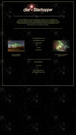 Vorschau der mobilen Webseite www.der-starhopper.de, Astronomie [Müller, Uwe]