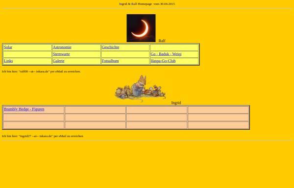 Vorschau von www.inkara.de, Astronomie [Schönfeld, Ralf]