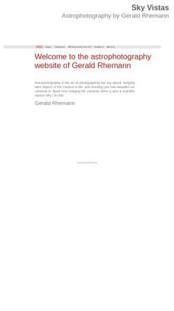 Vorschau der mobilen Webseite www.astrostudio.at, Astrostudio [Rhemann, Gerhard]