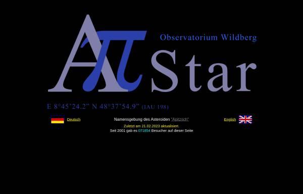 Vorschau von www.astro-wildberg.de, Observatorium Wildberg