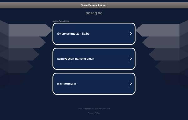Vorschau von www.poseg.de, Provate Observatory Sturm Europe Germany (POSEG)
