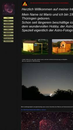 Vorschau der mobilen Webseite www.sternwarte-rodenberg.de, Sternwarte Rodenberg