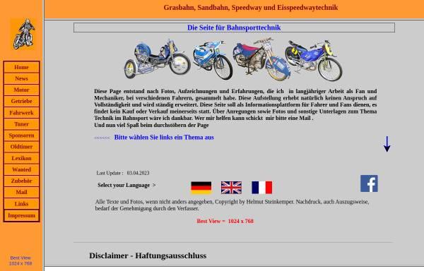 Vorschau von bahnsporttechnik.de, Bahnsporttechnik