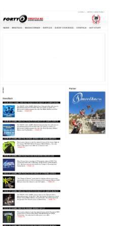 Vorschau der mobilen Webseite www.forty8.com, Forty8