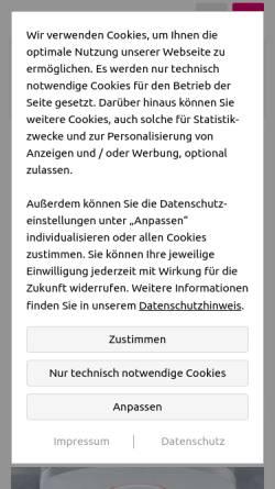 Vorschau der mobilen Webseite elektrobrisch.de, Elektro Brisch GmbH & Co. KG