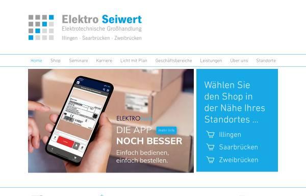 Vorschau von saar-pfalz.elektro-online.de, Elektrogroßhandel BuB GmbH
