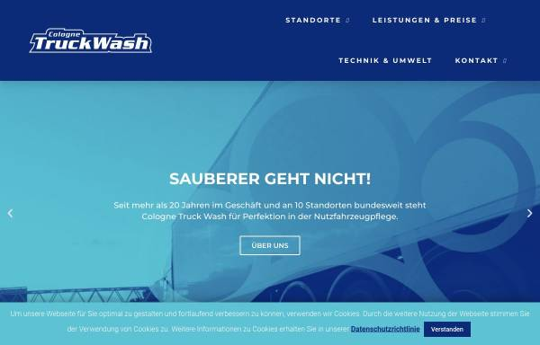 Vorschau von www.colognetruckwash.de, Cologne Truck Wash GmbH