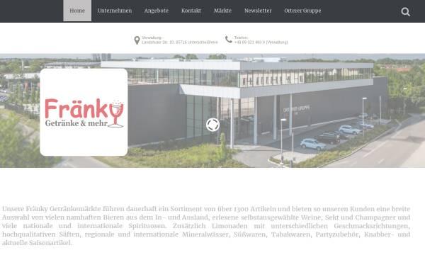 Fränky Getränkemarkt: Wirtschaft, Schwabach fraenky-getraenke.de