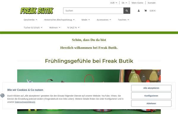 Vorschau von www.freakbutik.de, Freak butik