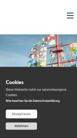 Vorschau der mobilen Webseite www.benno.de, Benno Vertriebsgesellschaft für technischen Bedarf mbH