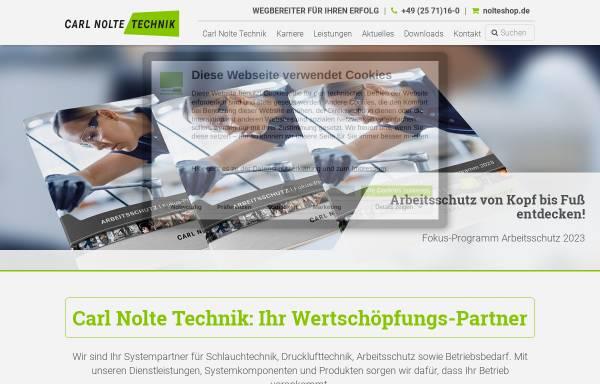 Vorschau von www.carlnolte.de, Carl Nolte Technik GmbH