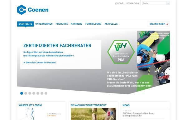 Vorschau von www.coenen.de, Coenen Neuss GmbH & Co KG