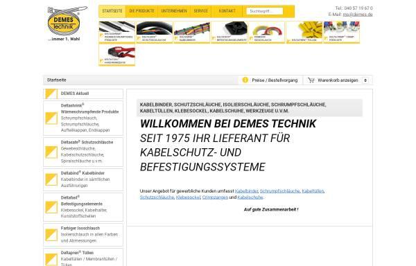 Vorschau von www.demes.de, Demes Technik GmbH