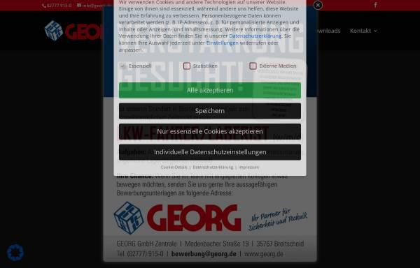 Vorschau von www.georg.de, Georg GmbH
