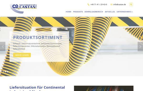 Vorschau von www.industriebedarf-castan.com, Industriebedarf Castan GmbH