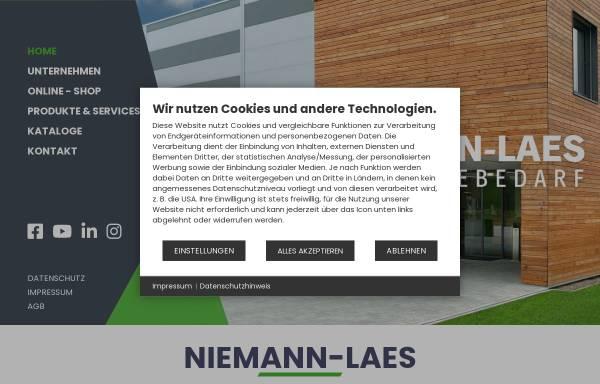 Vorschau von www.niemann-laes.de, Industriebedarf Niemann-Laes GmbH