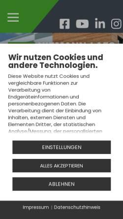 Vorschau der mobilen Webseite www.niemann-laes.de, Industriebedarf Niemann-Laes GmbH