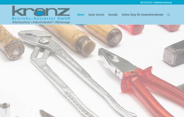Vorschau von kranz-bremen.de, Kranz GmbH