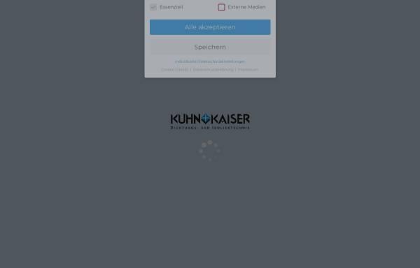 Vorschau von www.kuhn-kaiser.de, Kuhn + Kaiser GmbH