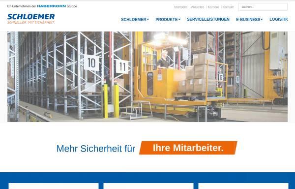 Vorschau von www.schloemer24.de, Schloemer GmbH - Technischer Großhandel