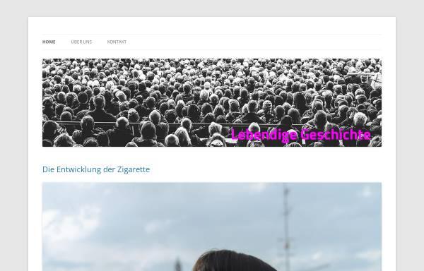 Vorschau von lebendige-geschichte.ch, Forum für lebendige Geschichte
