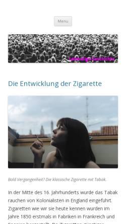 Vorschau der mobilen Webseite lebendige-geschichte.ch, Forum für lebendige Geschichte