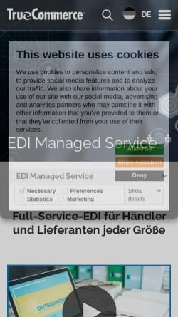 Vorschau der mobilen Webseite www.clientcomputing.de, Client Computing Germany GmbH