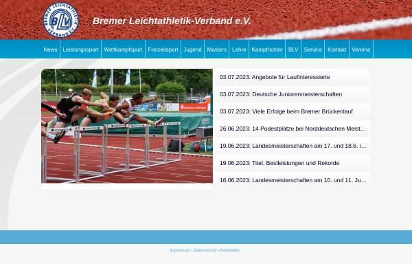 Vorschau von www.leichtathletik-in-bremen.de, Bremer Leichtathletik-Verband