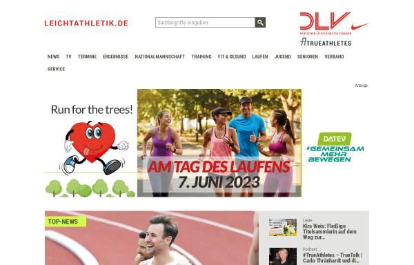 Vorschau von www.leichtathletik.de, Deutscher Leichtathletik-Verband