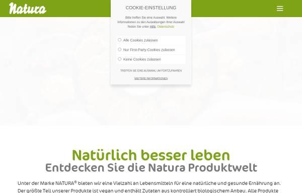 Vorschau von www.naturawerk.de, Natura-Werk Gebr. Hiller GmbH & Co. KG