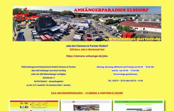 Vorschau von www.clemens-partner.de, Clemens und Partner - Kurierdienste