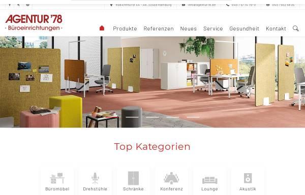 Vorschau von www.agentur78.de, Agentur '78
