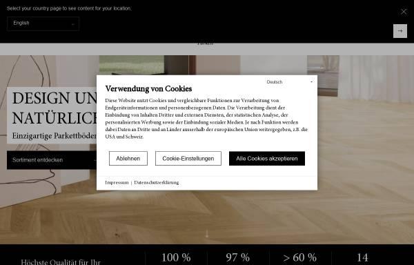Vorschau von www.bauwerk-im-stilwerk.com, Bauwerk Parkett GmbH