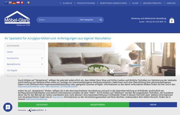 Vorschau von www.moebel-glanz.de, Einrichtungshaus Möbel Glanz