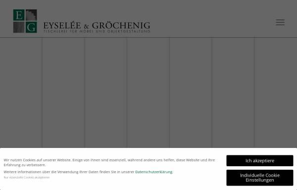 Vorschau von www.eg-moebel.de, Eysele und Gröchenig Büromöbel und Objektgestaltung