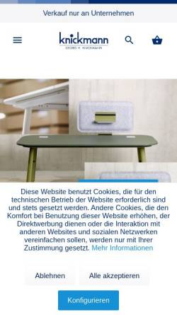 Vorschau der mobilen Webseite www.schul-knickmann.de, Georg H. Knickmann e.K.