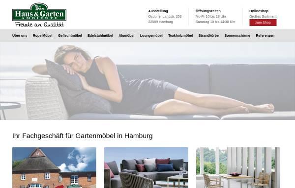 Vorschau von www.gartenmoebel-hamburg.de, Haus und Garten Ambiente