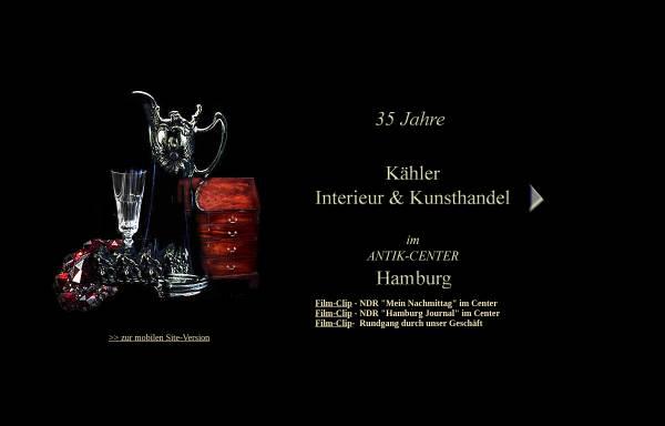 Vorschau von www.kaehler-kunsthandel.de, Kähler Kunsthandel
